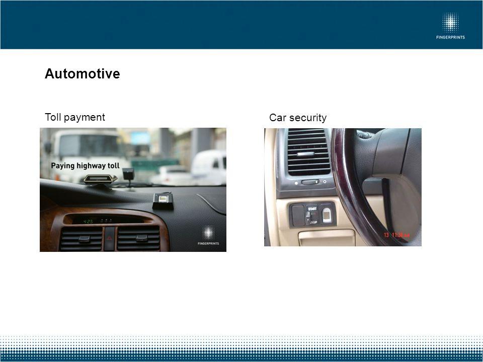 Automotive Toll payment Car security