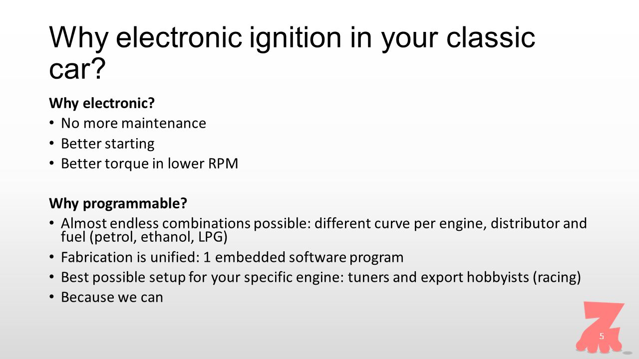 Why electronic ignition in your classic car. Why electronic.