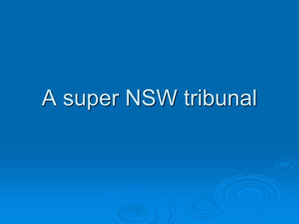 A super NSW tribunal