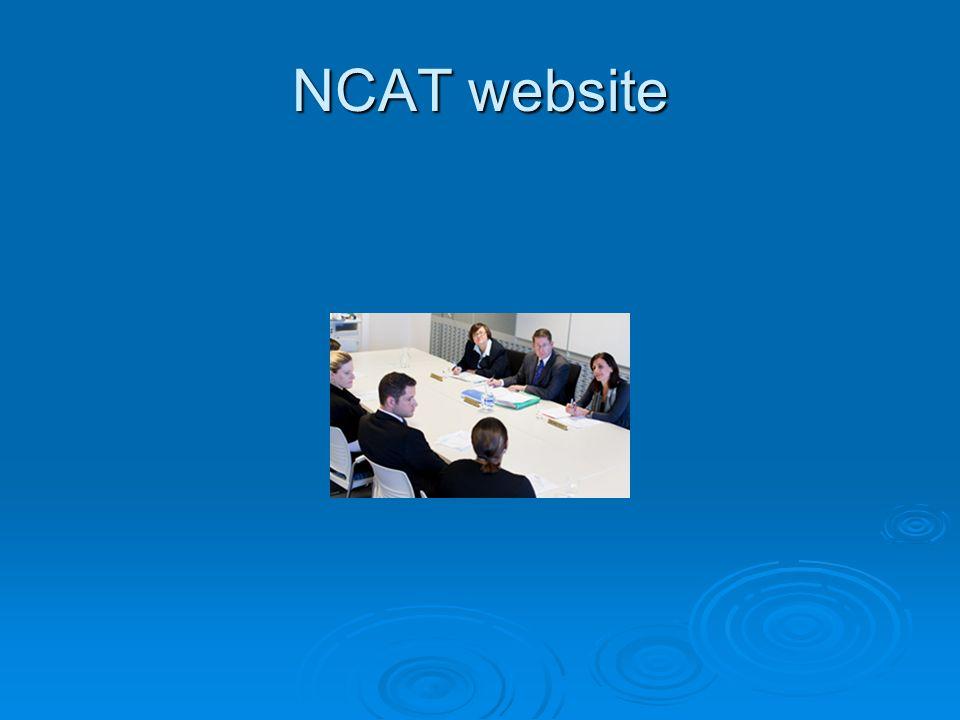 NCAT website