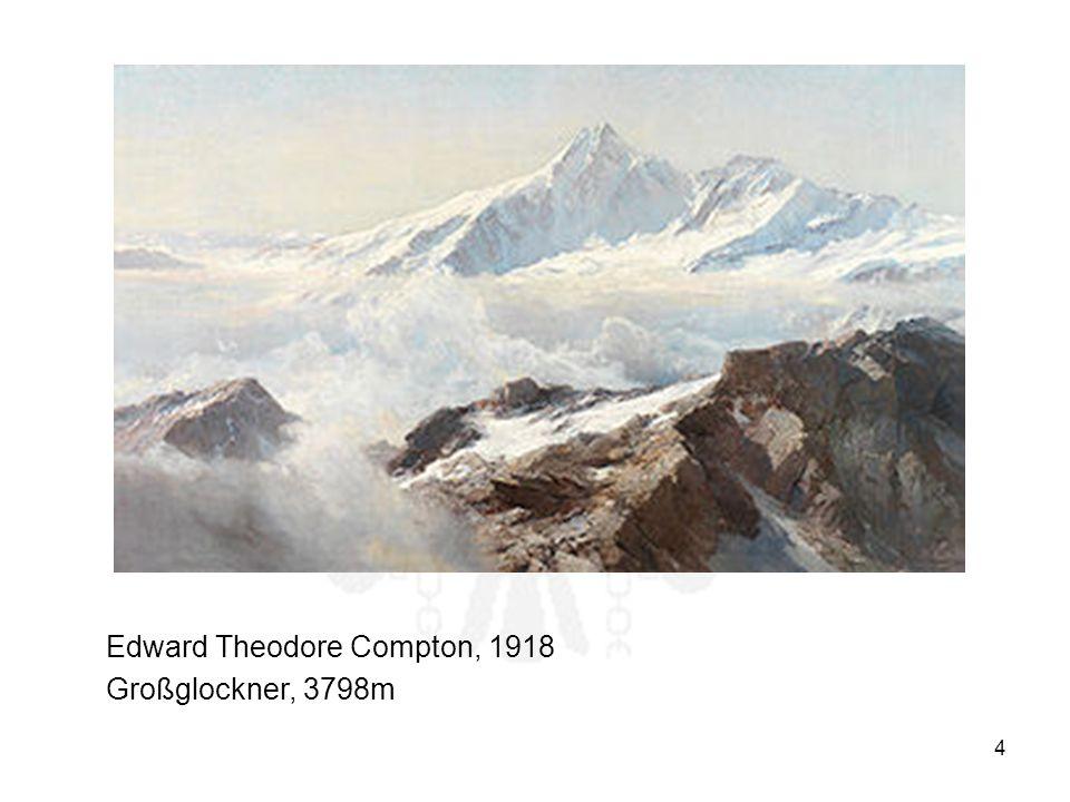 4 Edward Theodore Compton, 1918 Großglockner, 3798m
