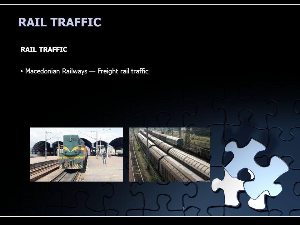 RAIL TRAFFIC Macedonian Railways — Freight rail traffic