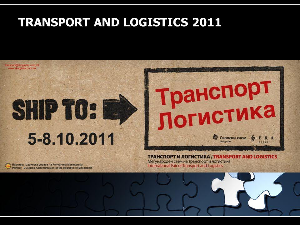 TRANSPORT AND LOGISTICS 2011