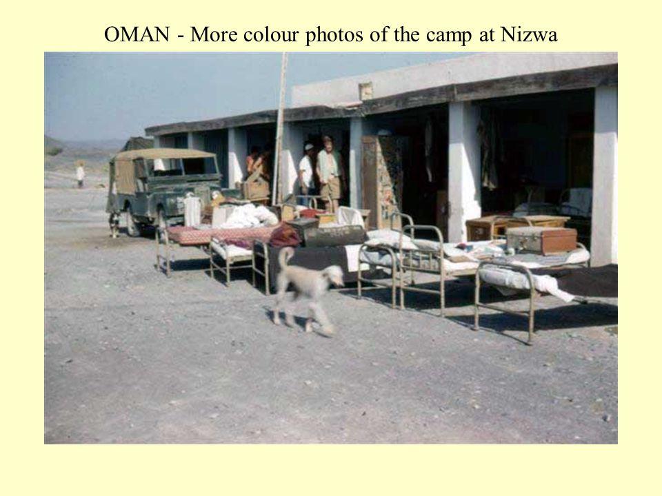 OMAN - More colour photos of the camp at Nizwa