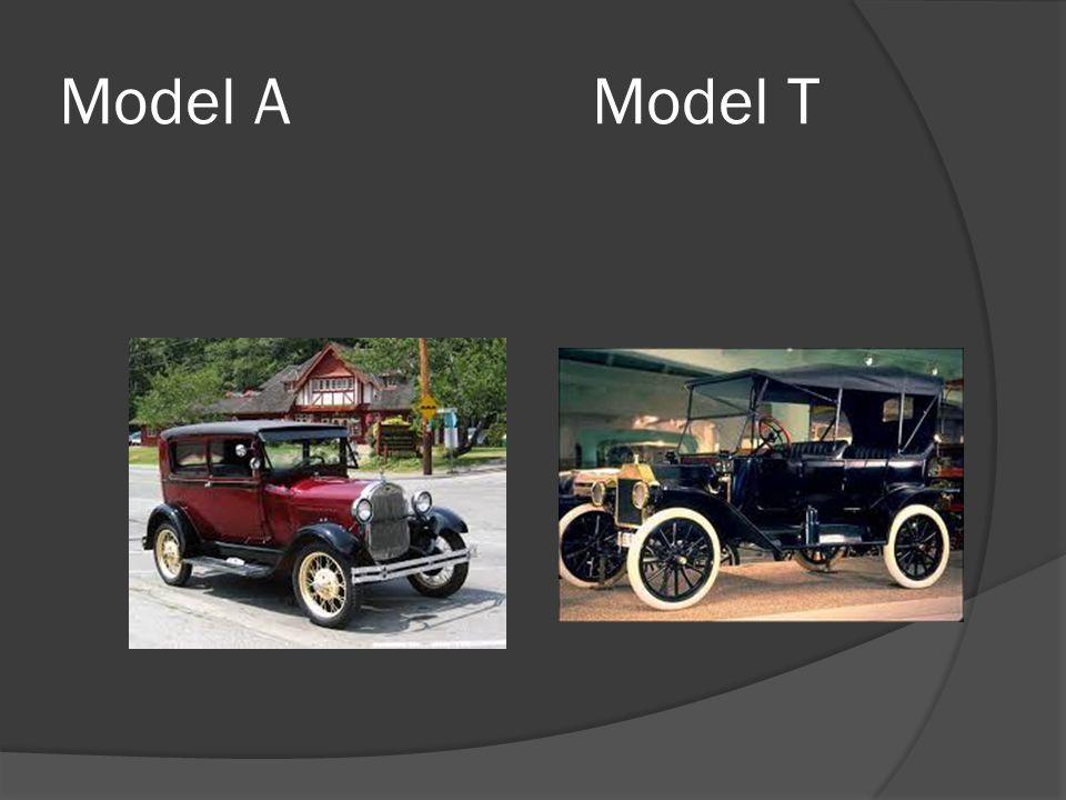 Model AModel T