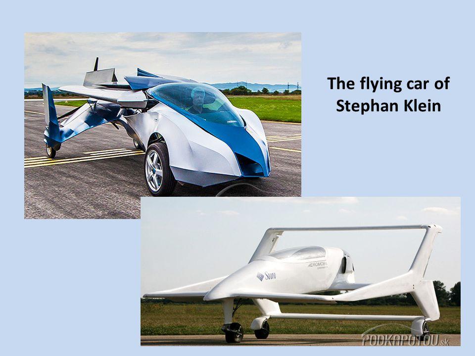 The flying car of Stephan Klein
