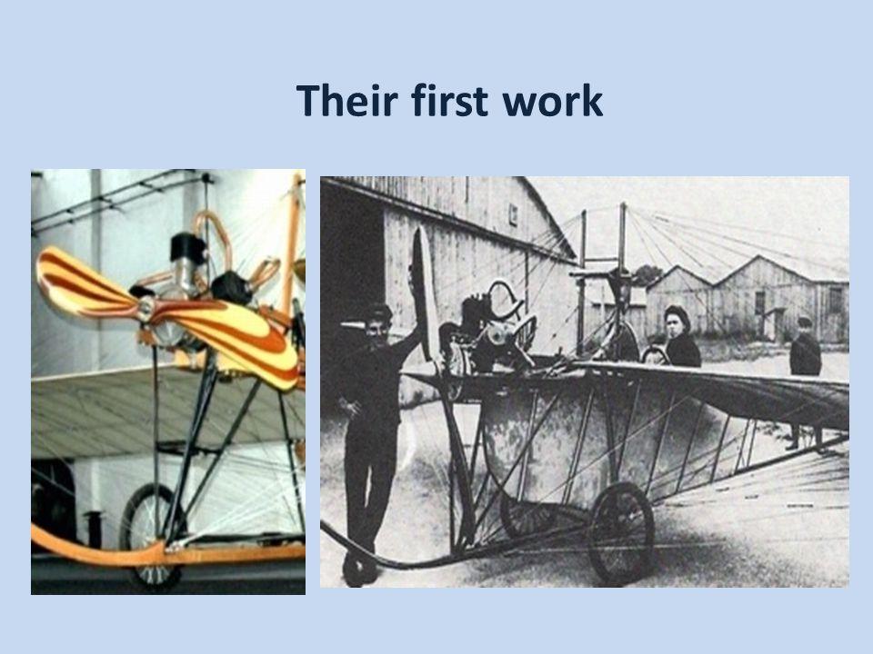 Their first work