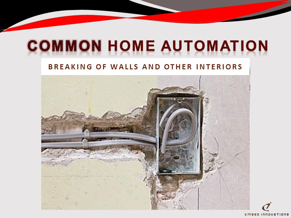 RECABLING / REWIRING AND CAT CABLESBREAKING OF WALLS AND OTHER INTERIORS