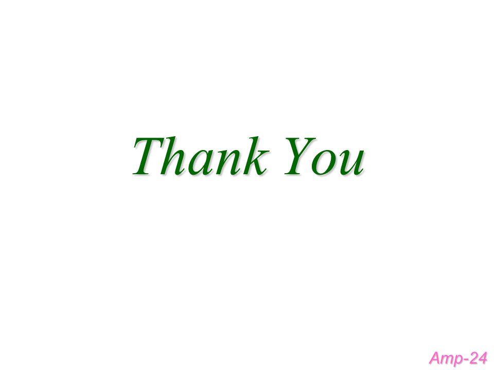 Thank You Amp-24