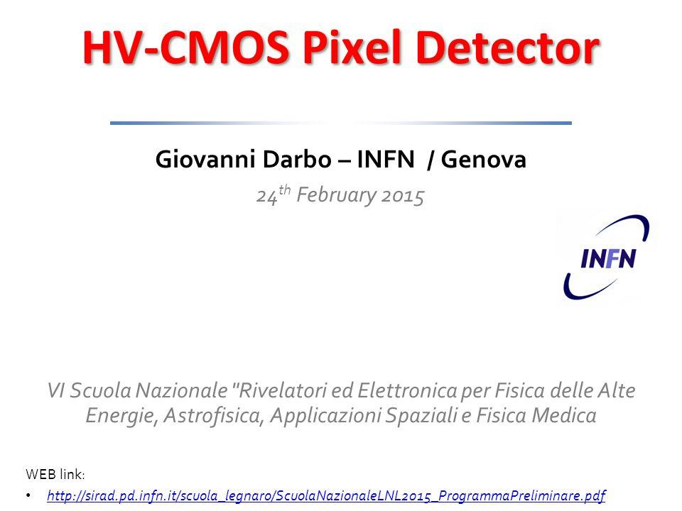 HV-CMOS Pixel Detectors, G.