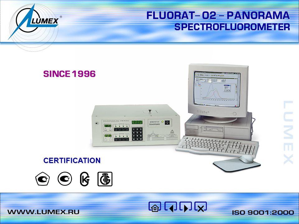 FLUORAT- 02 - PANORAMA SPECTROFLUOROMETER