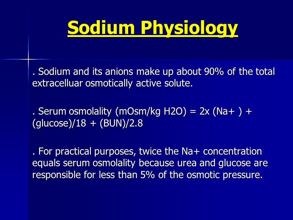 Sodium Physiology.