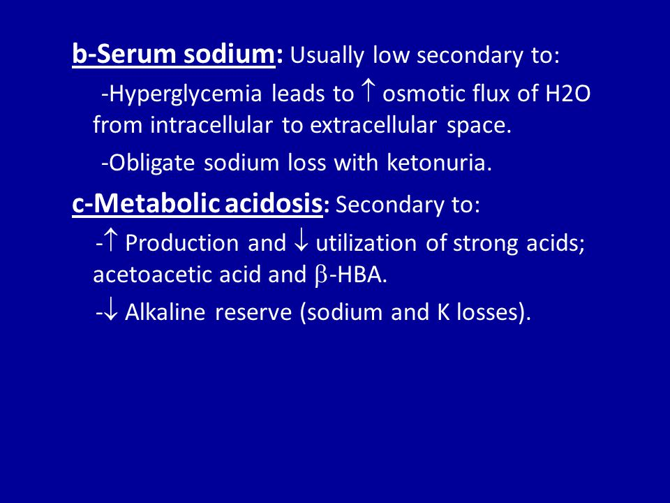 Rational of potassium therapy In the 1 st 2 liters of fluid  add no potassium.