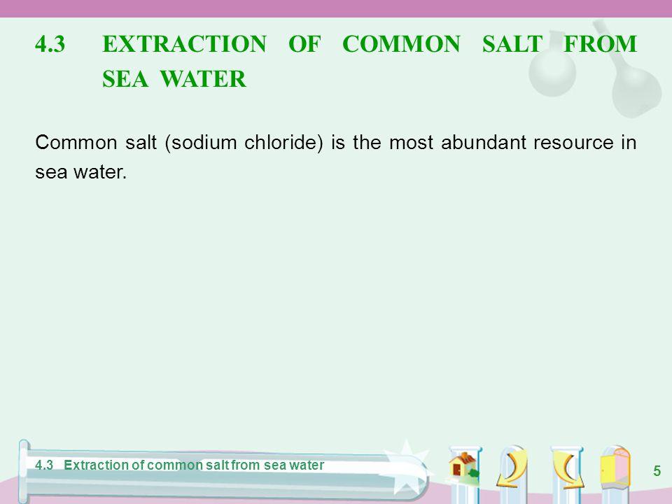 35 Hydrogen Chlorine Sodium hydroxide Brine electrolysis 4.6 Electrolysis of sea water and uses of products Figure 4.22 Some uses of products from the electrolysis of brine.
