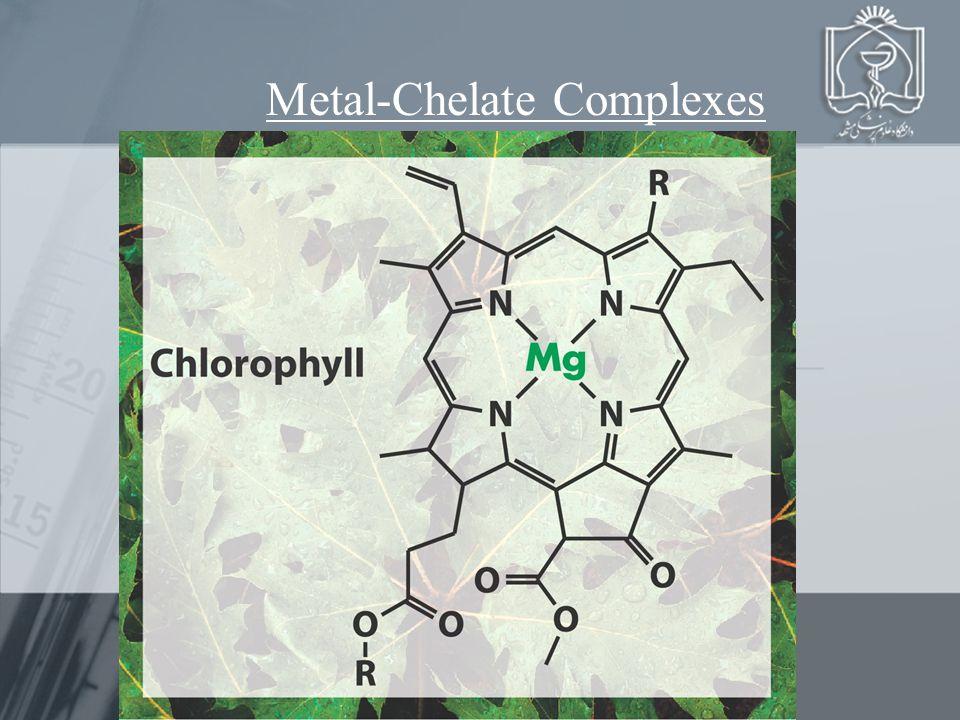 Complexometry Metal-Chelate Complexes