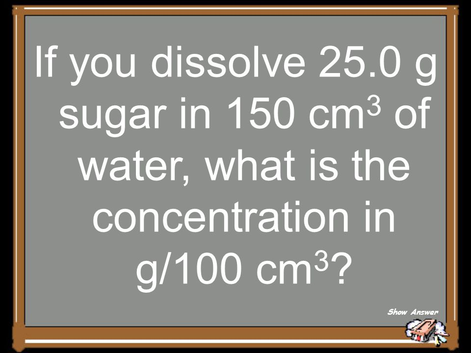 Answer for 5 Points Solvent Back to Board
