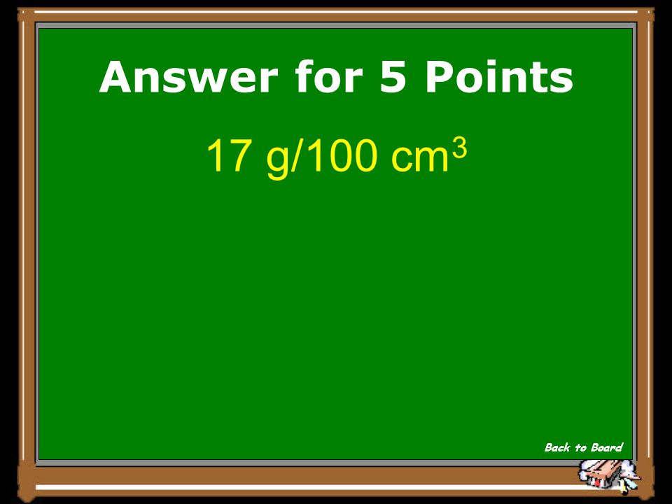 If you dissolve 25.0 g sugar in 150 cm 3 of water, what is the concentration in g/100 cm 3 ? Show Answer