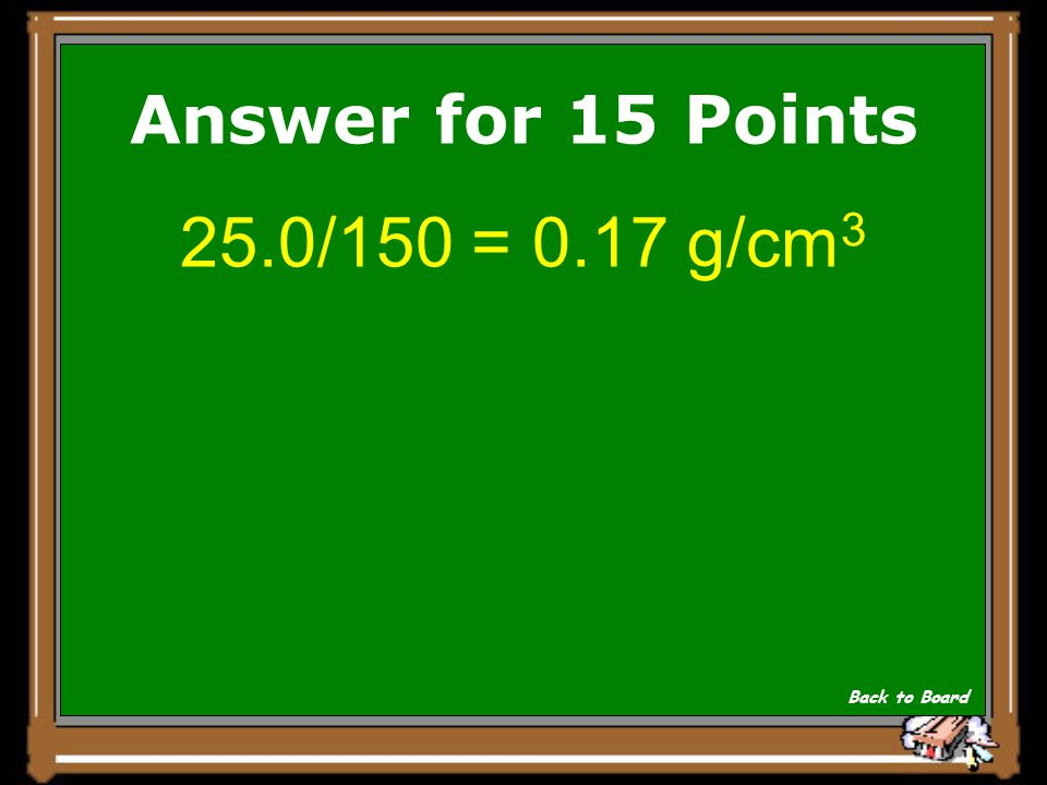 Show Answer If you dissolve 25.0 g of sugar in 150 cm3 of water, what is the concentration in g/cm 3