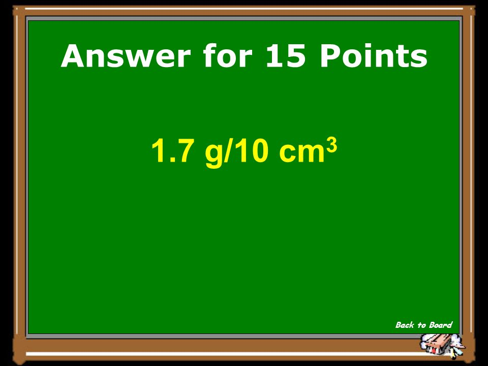 If you dissolve 25.0 g of sugar in 150 cm3 of water, what is the concentration in g/10 cm 3 ? Show Answer