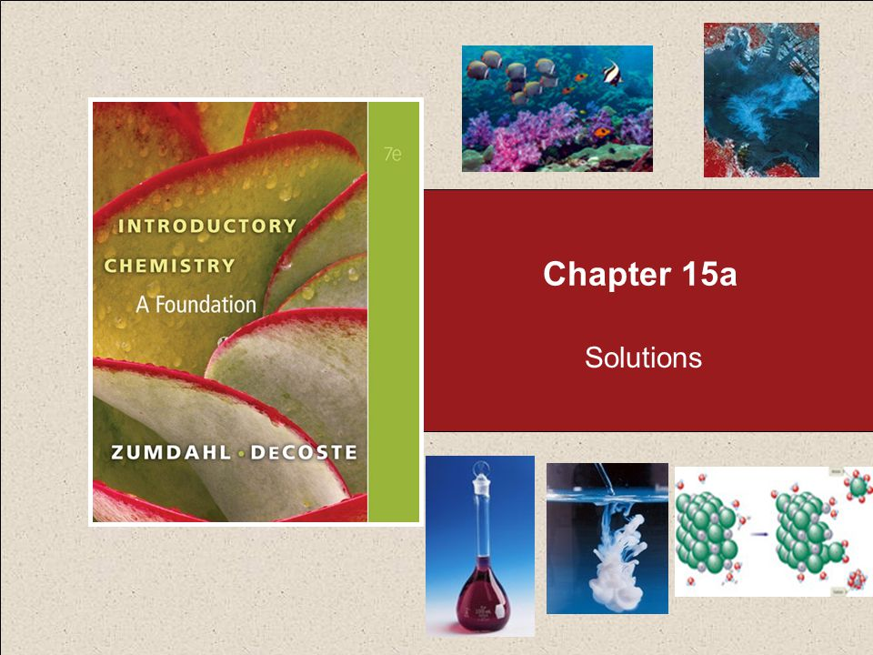 Chapter 15a Solutions