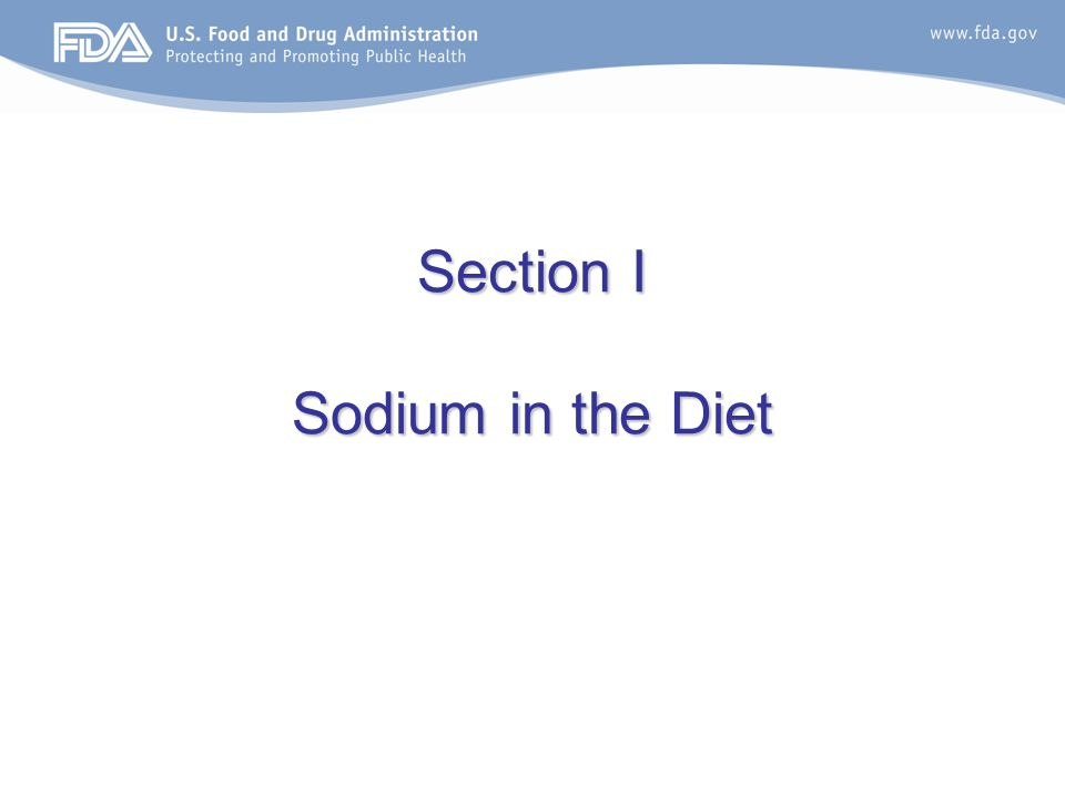 Health claims related to sodium, potassium, and blood pressure Authorized Health Claims –Diets low in sodium may reduce the risk of high blood pressure, a disease associated with many factors.
