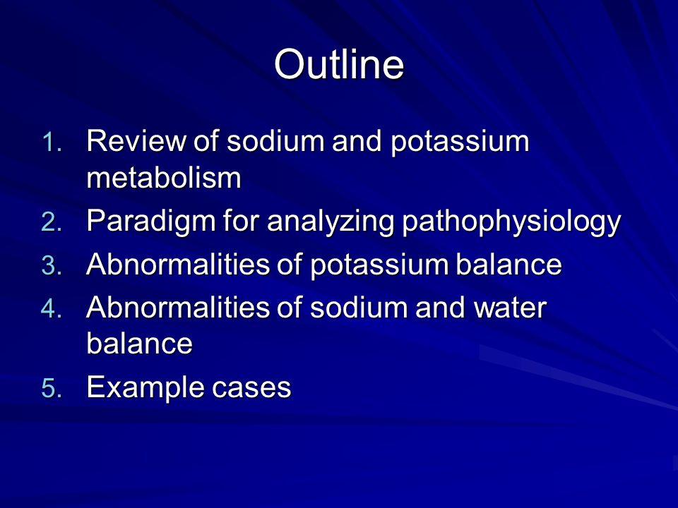 Major Mediators of Sodium and Water Balance Angiotensin II Aldosterone Antidiuretic hormone (ADH)