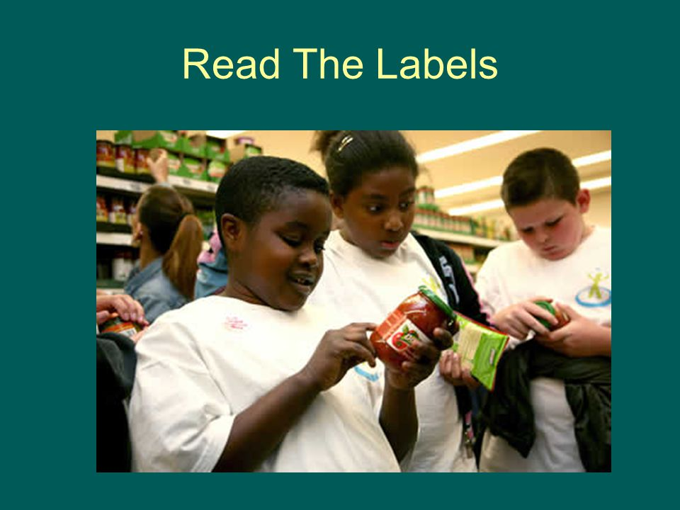 Read The Labels