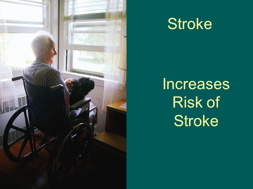 Stroke Increases Risk of Stroke