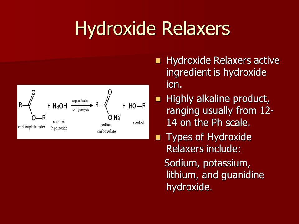 Sodium Hydroxide Sodium Hydroxide is highly caustic.