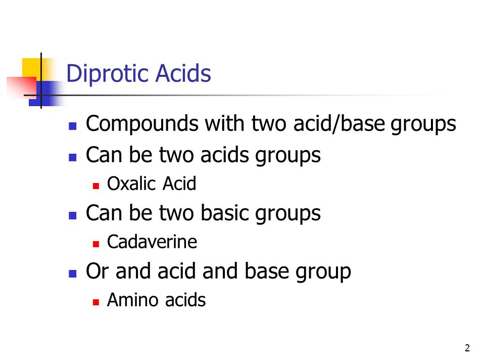 13 How do we then calculate the pH's Acid Form H 2 L + Treat was a weak monoprotic acid.
