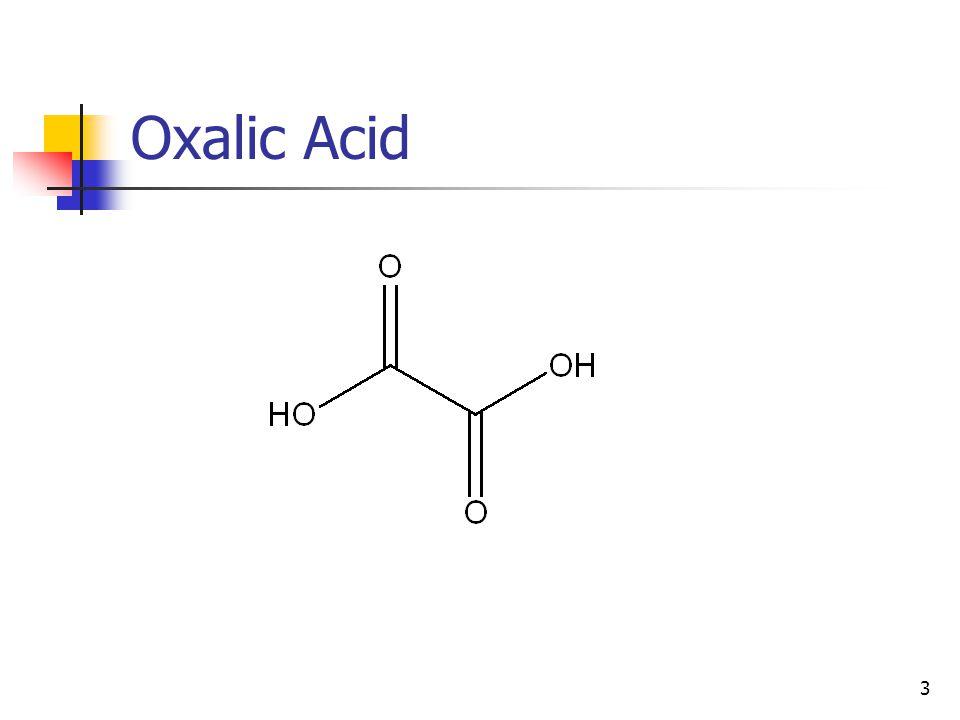 3 Oxalic Acid
