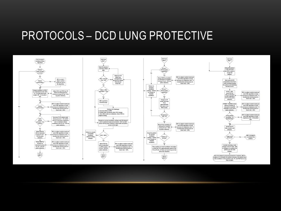 PROTOCOLS – DCD LUNG PROTECTIVE