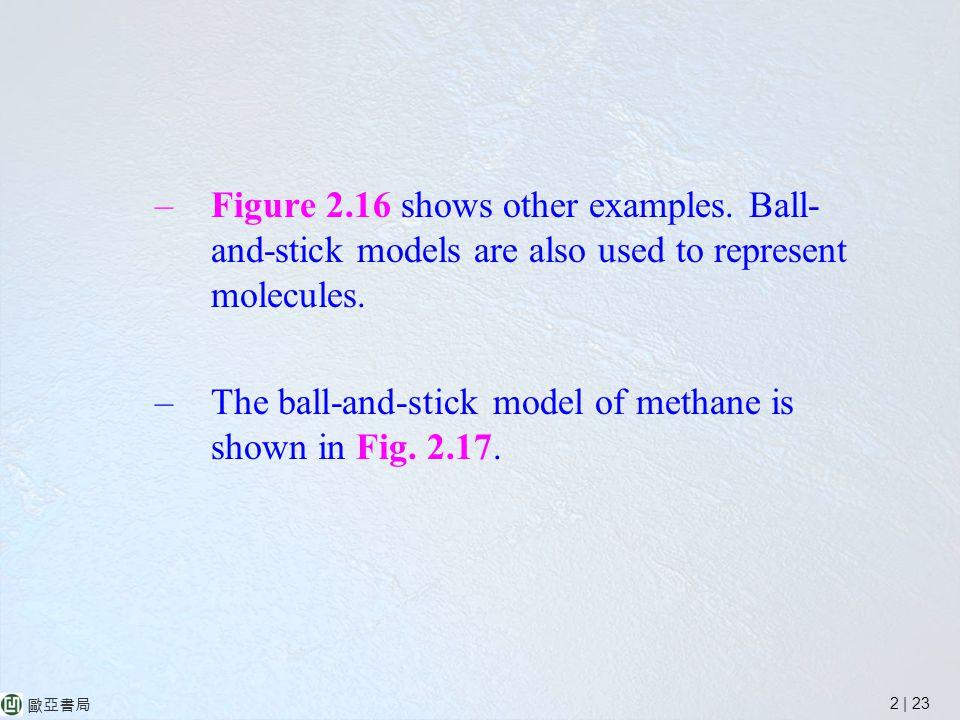2 | 23 歐亞書局 –Figure 2.16 shows other examples.