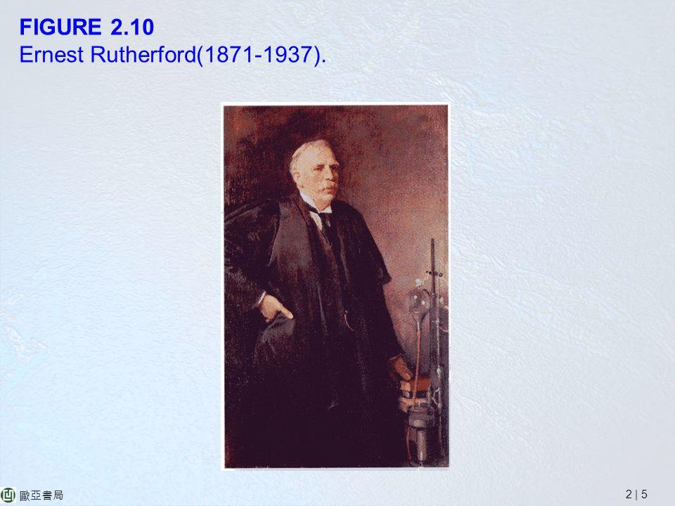 2 | 5 歐亞書局 FIGURE 2.10 Ernest Rutherford(1871-1937).