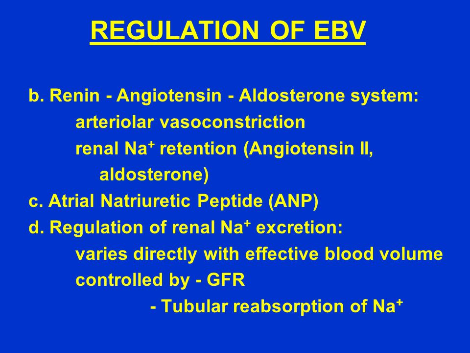 REGULATION OF EBV b.