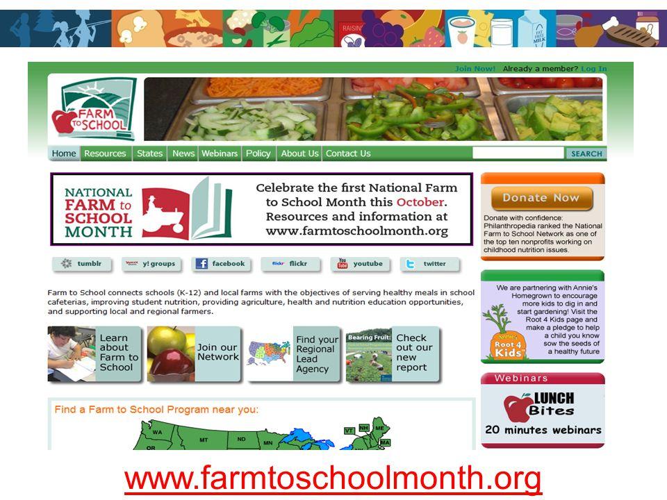 www.farmtoschoolmonth.org