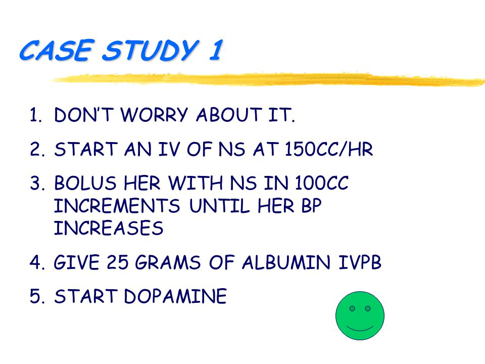CASE STUDY 1 1.DON'T WORRY ABOUT IT.