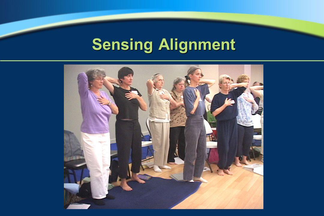 Sensing Alignment