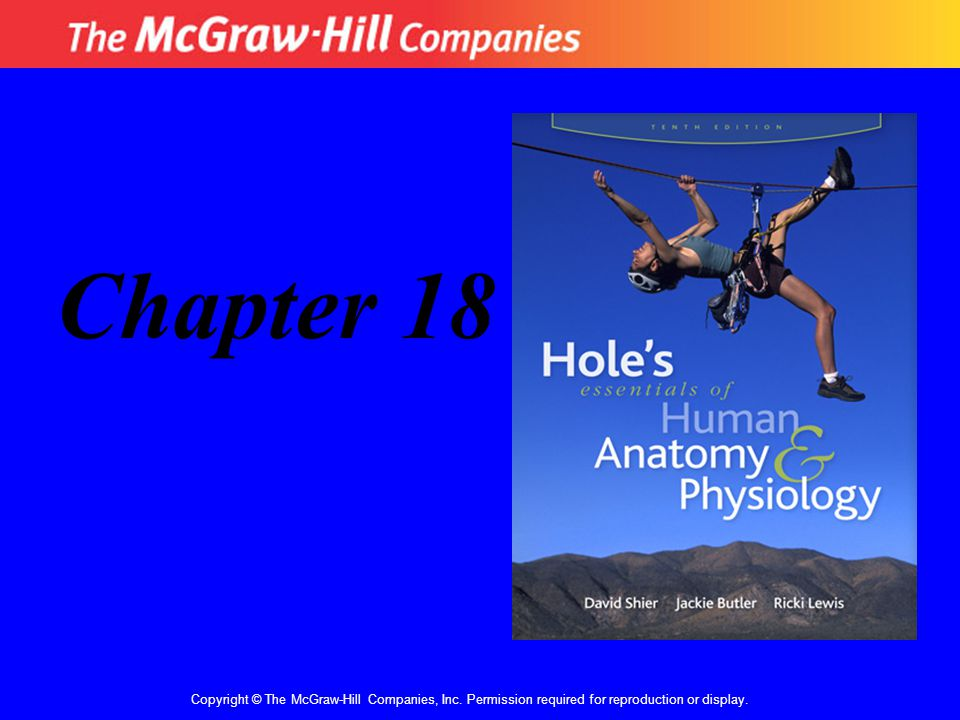 Copyright © The McGraw-Hill Companies, Inc. Permission required for reproduction or display. Chapter 18