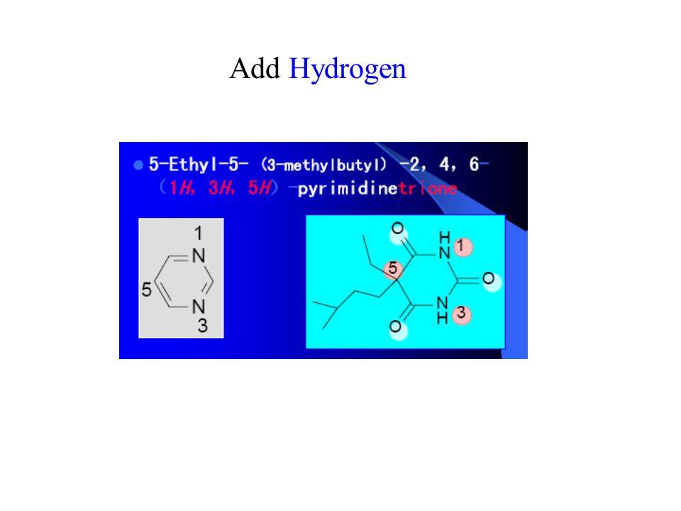 Add Hydrogen
