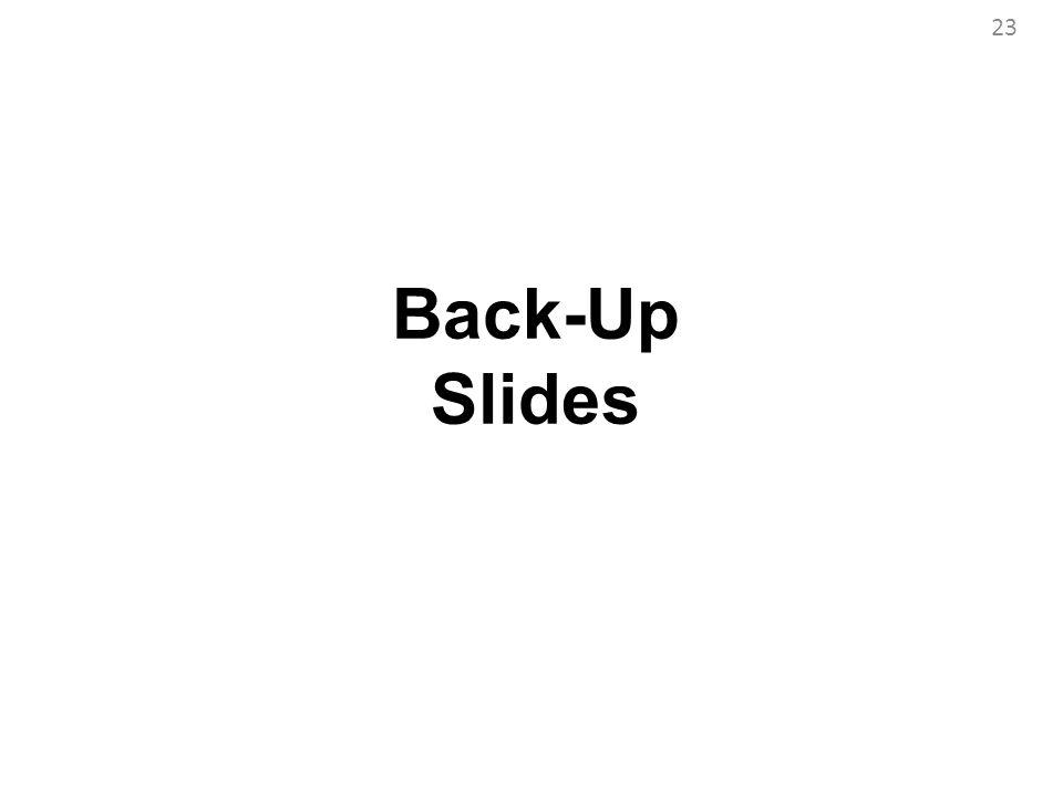 Back-Up Slides 23