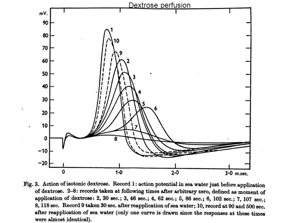 Dextrose perfusion