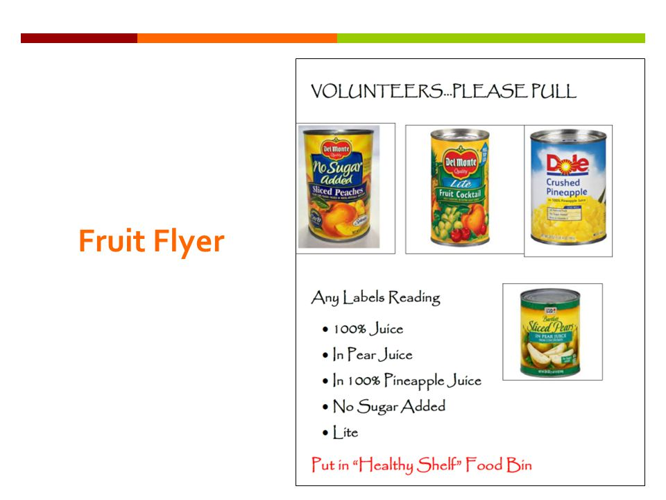 Fruit Flyer