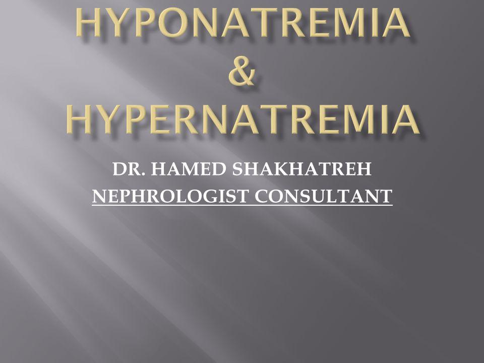 DR. HAMED SHAKHATREH NEPHROLOGIST CONSULTANT