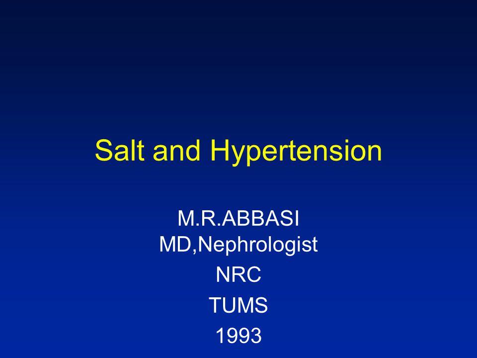 P. A. Gilbert* and G. Heiser: Salt and health British Nutrition Fundation