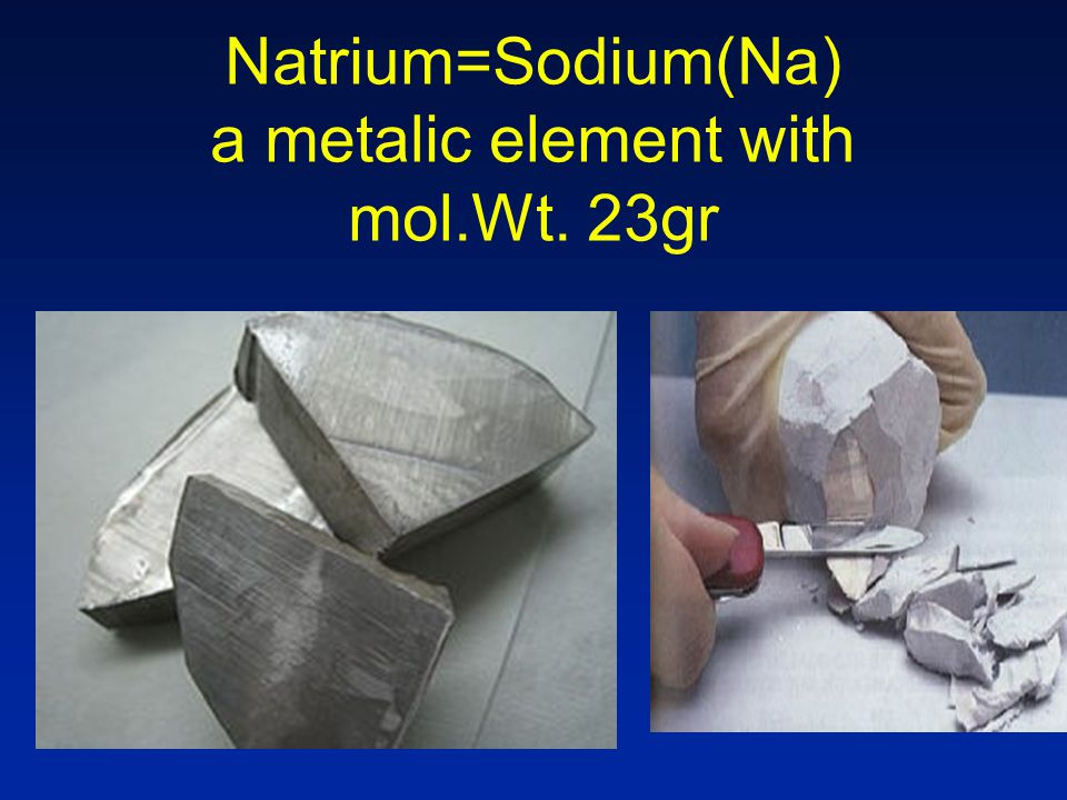 Chloride(Cl) a light green toxic gas with mol. Wt. of 35.5gr