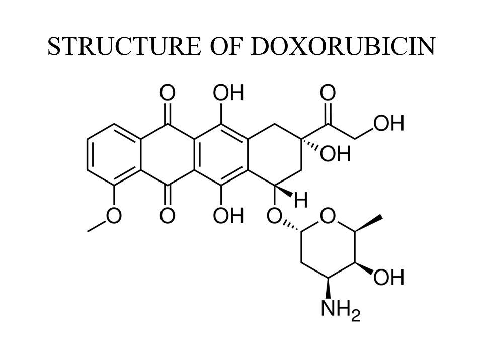 STRUCTURE OF DOXORUBICIN