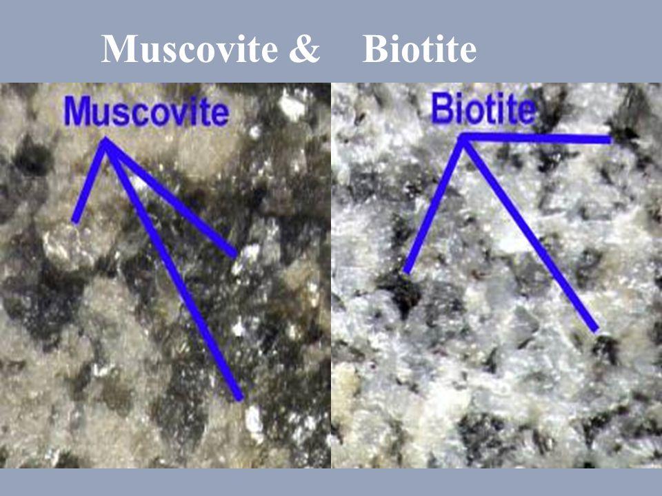 Muscovite & Biotite