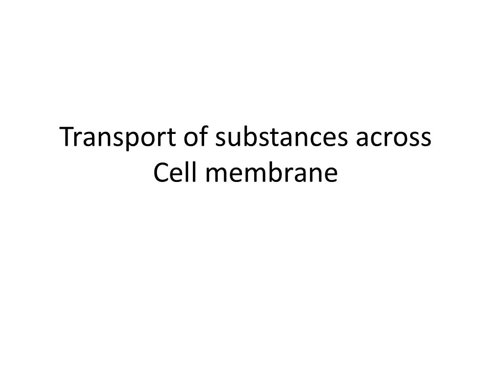 Among the most important substances that cross cell membranes by facilitated diffusion are glucose and most of the amino acids.