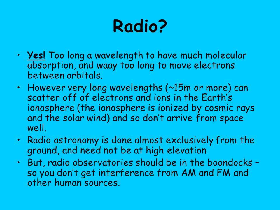 Radio. Yes.